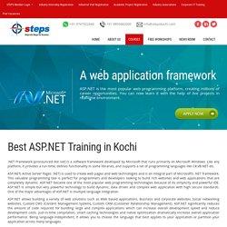 ASP.NET Training - ASP.NET Training in Kochi
