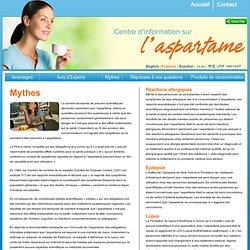 Aspartame sans danger