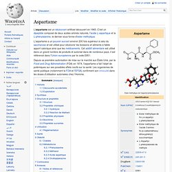 WIKIPEDIA – Aspartame.