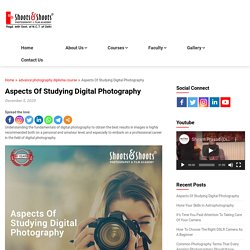 Aspects Of Studying Digital Photography