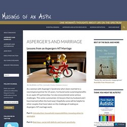 Asperger's and Marriage