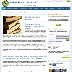 For those with autism / Asperger's