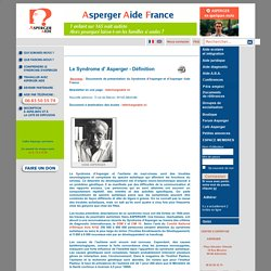 Asperger Aide - Le Syndrome d' Asperger