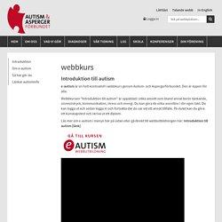 och Aspergerförbundet - webbkurs