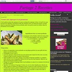 Coeurs aux asperges et au parmesan - Partage 2 Recettes