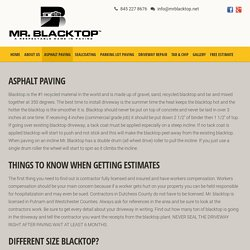 Asphalt Paving Company Hudson Valley – New York