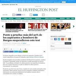 Ponte a prueba: más del 50% de los aspirantes a bombero de Burgos suspendieron este test