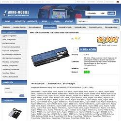Akku Acer Aspire 7736 7736ZG 7530G 7720 7730 AS07B61 AKKU-MOBILE