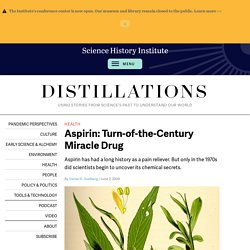 Aspirin: Turn-of-the-Century Miracle Drug