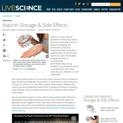Aspirin: Dosage & Side Effects