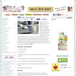 DIY Aspirin Facial