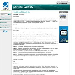 ASQ Service Quality Division