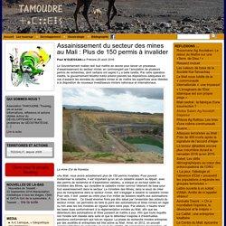 Assainissement du secteur des mines au Mali : Plus de 150 permis à invalider - Tamoudre: Touaregs, vie et survie