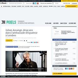 Julian Assange, deux ans dans l'ambassade d'Equateur à Londres