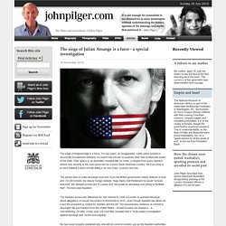 The siege of Julian Assange is a farce - a special investigation