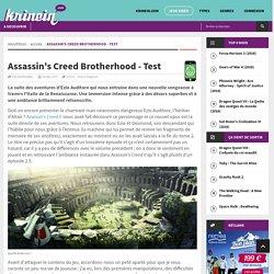 Assassin's Creed Brotherhood - Test