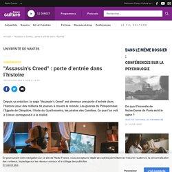 """""""Assassin's Creed"""" : porte d'entrée dans l'histoire"""