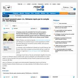 Un tweet assassin pour J.-L. Dehaene repris par le compte d'H. Van Rompuy