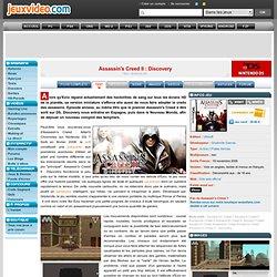Test de Assassin's Creed II : Discovery sur Nintendo DS