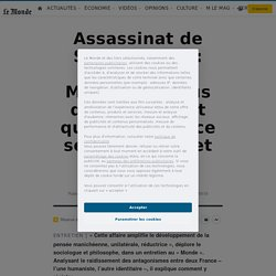 Assassinat de Samuel Paty: pour Edgar Morin, «le plus dangereux est que deux France se dissocient et s'opposent»
