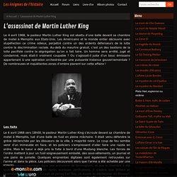 L'assassinat de Martin Luther King