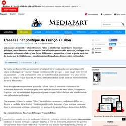 L'assassinat politique de François Fillon