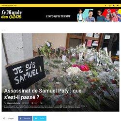 Assassinat de Samuel Paty: que s'est-il passé?