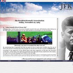 """JFK Assassination – """"John Connally Hit at Z-frame 285"""""""