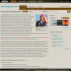 Kennedy Assassination - The Conspiracy Wiki