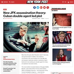 New JFK assassination theory: Cuban double agent led plot