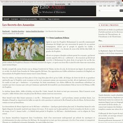 Les Secrets des Assassins « Autres Sociétés Secrètes « Sociétés Secrètes