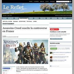 Assassins Creed suscite la controverse en France