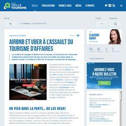 » Airbnb et Uber à l'assault du tourisme d'affaires