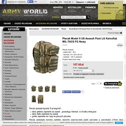 Plecak Model II US Assault Pack 50L Kamuflaż Nowy