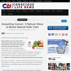 Assaulting Cancer: 5 Natural Ways to Boost Natural Killer Cells