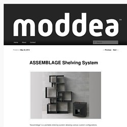 ASSEMBLAGE Shelving System