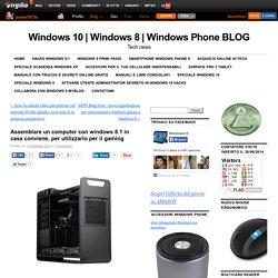 Assemblare un computer con windows 8.1 in casa conviene, per utilizzarlo per il gaming