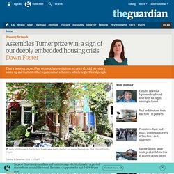 Assemble's Turner prize win: a sign of our deeply embedded housing crisis