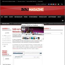 ZATAZ Faille sur le site de l'Assemblée Nationale corrigée - ZATAZ
