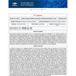 JO ASSEMBLEE NATIONALE 23/10/07 Réponse à question N°3633 plantes textiles. aides de l'État