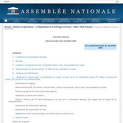 Assemblée nationale - Compte-rendu intégral des séances du 4 septembre 1870 (Corps législatif)