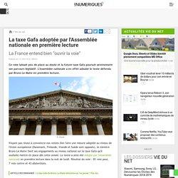 La taxe Gafa adoptée par l'Assemblée nationale en première lecture