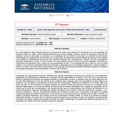 JO ASSEMBLEE NATIONALE 04/03/08 Au sommaire: QE N° 12843;consommation - sécurité alimentaire - irradiation. perspectives