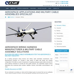 Custom Military Wire and Cable Assembly Manufacturer