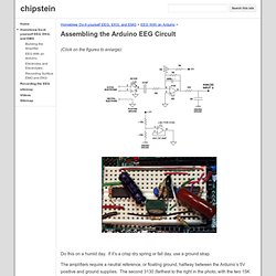 Assembling the Arduino EEG Circult - chipstein