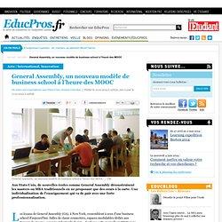 General Assembly, un nouveau modèle de business school à l'heure des MOOC