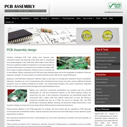 Robust Printed Circuit Board Design in the USA - 4PCB Assembly