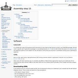 Assembly step 15 - ShapeOko