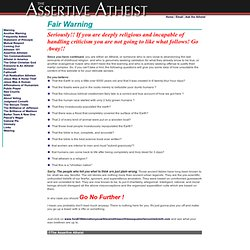 Assertive Atheism