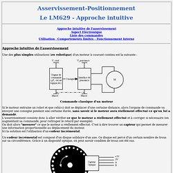 Asservissement-Positionnement - le LM629